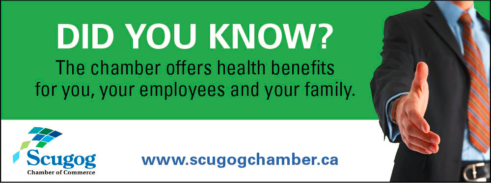 Scugog Chamber of Commerce offers health benefits for you, your employees and your family.