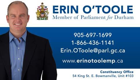 Erin O'Toole - MP